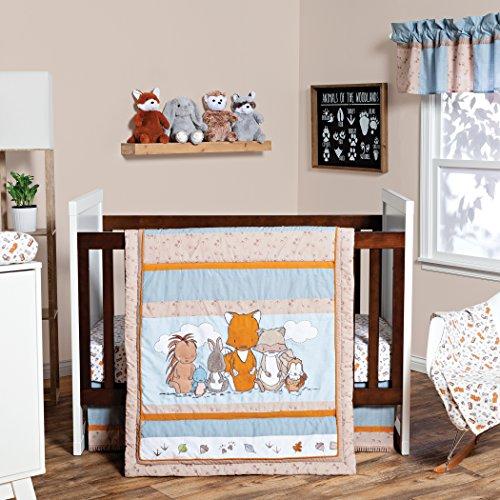 Trend Lab Wild Woods Bunch 3 Piece Crib Bedding/Nursery Set ()