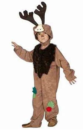 Disfraz de Reno Divertido infantil A-(3/5A): Amazon.es: Juguetes y ...