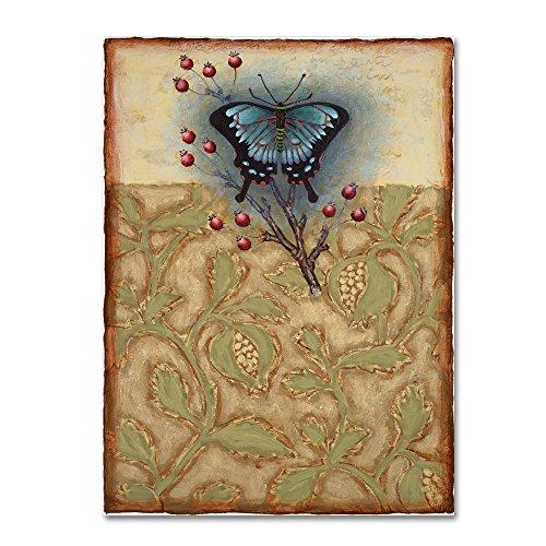 Salt Meadow Butterfly by Rachel Paxton, 14x19-Inch Canvas Wall - Salt Butterfly Meadow