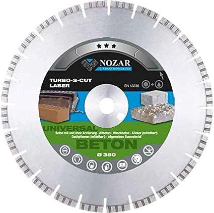 nozar profesional laser turbo s Cut Diamante (para hormigón con y sin recubrimiento, altbeton
