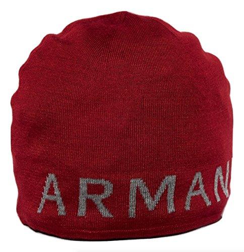 Armani Exchange AIX Reversible Contrast Logo Classic Beanie Hat, - Exchange Armani Aix
