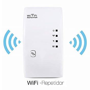 Hongrace WiFi Repetidor, Enchufe Inalámbrico 300Mbps Extensor de Red Extensor de Rango Amplificador Enrutador Repetidor