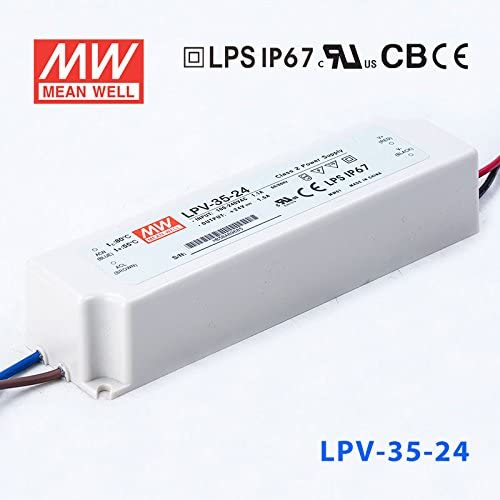 Meanwell LPV-35-24 Power Supply Driver