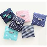 BellyAnna Set of 6 Reusable Shopping Eco Tote Travel Foldable Recycle Bag