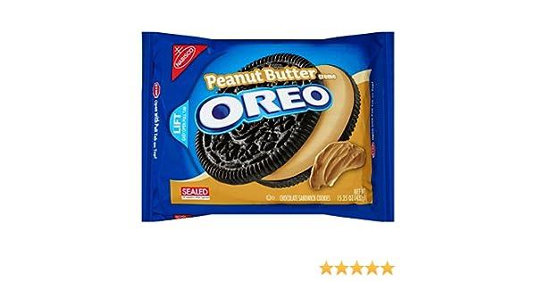 Oreo Peanut Butter Creme 432g: Amazon.es: Alimentación y bebidas