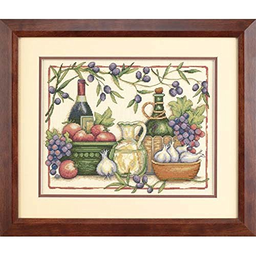 Dimensions Needlecrafts Counted Cross Stitch, Tuscan Flavors