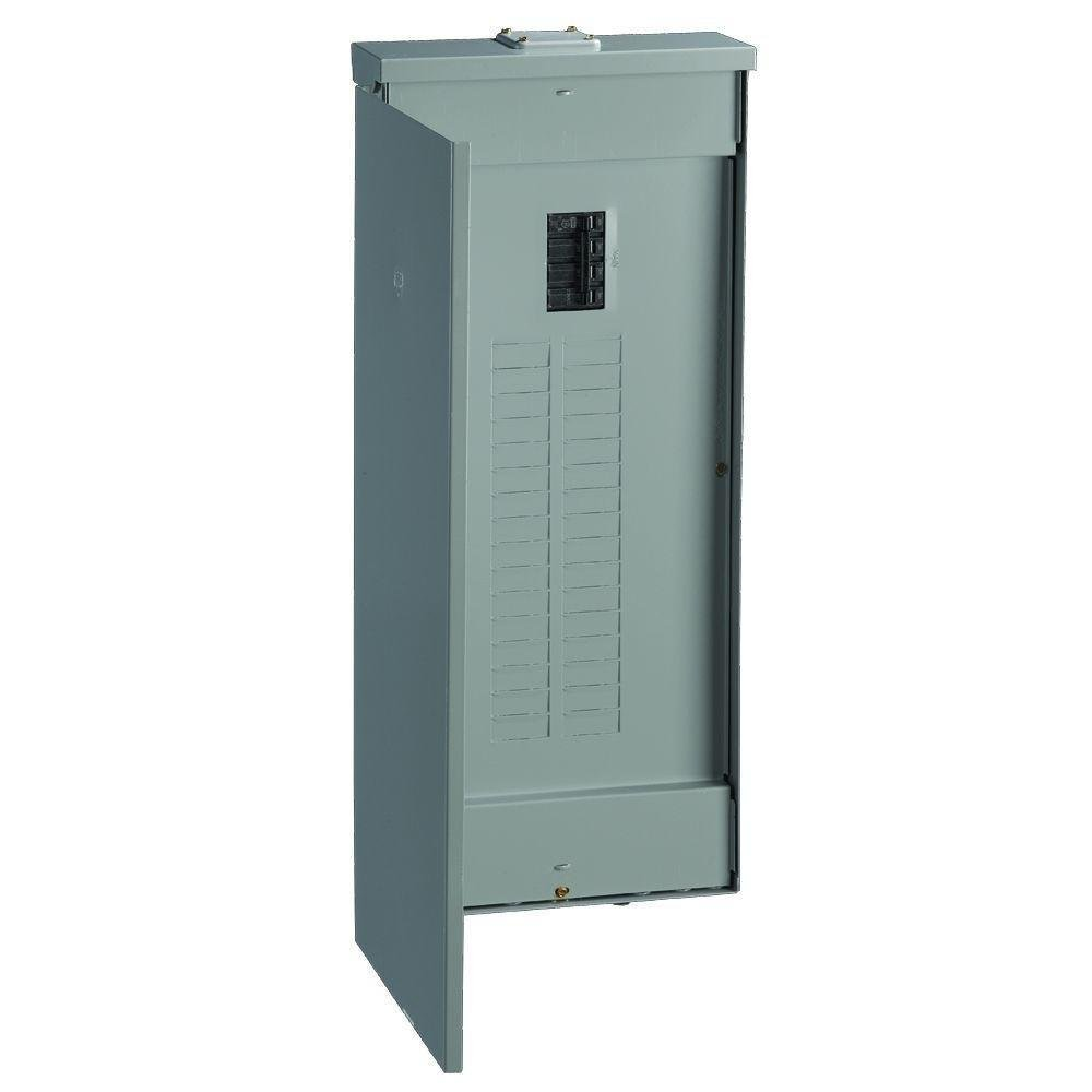GE TM3220RCUP Gold 200 Amp 32-Space 40-Circuit Outdoor Main Breaker Load Center
