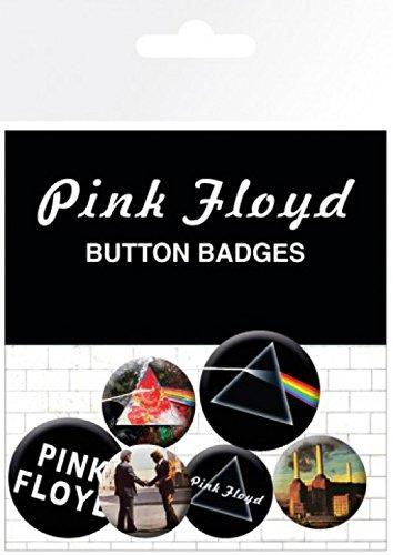 sorpresa mm insignias 15x10 4 32 Paquete 2 1x 1art1 y de logotipos Pegatina Floyd Set mm x 25 Pink de cm qRxOCwva