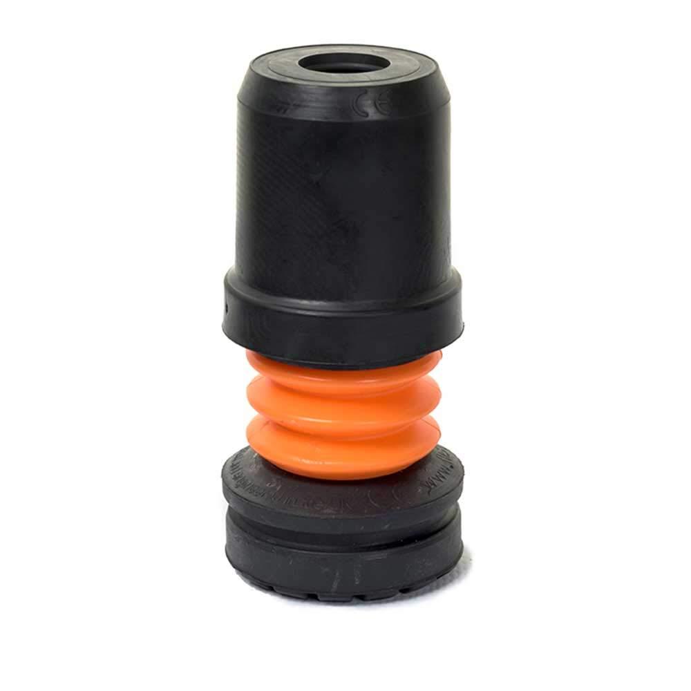 NRS Healthcare Flexyfoot Sto/ßd/ämpfende H/ülse Schwarz 19 mm
