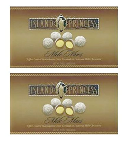 2 Pack Mele Macs Chocolate Toffee Macadamia Nuts Boxes (14 (Mac Nut)