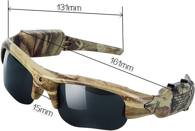 Toughsty 16GB Spy Camera Sunglasses Eyewear Outdoor Action Video Recording Camcorder