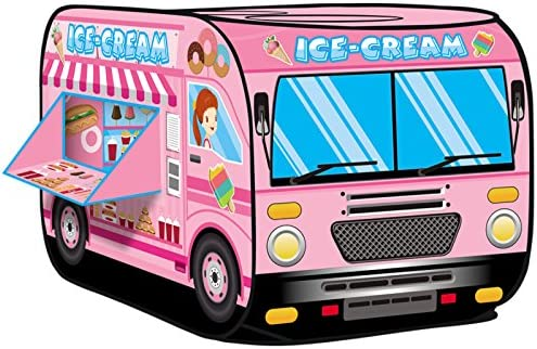 Kiddie Play Cream Truck Tent product image