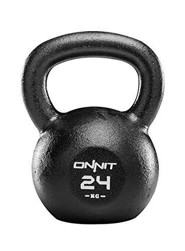 Onnit Chip Resistant Kettlebell with Enhanced Grip (24kg)