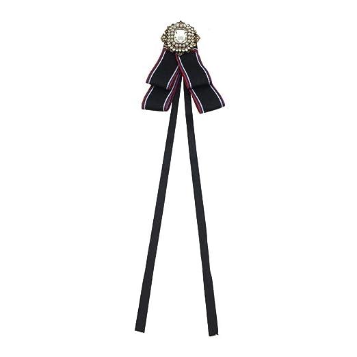 Olydmsky Broches para Ropa Mujer Arco-Arco de Diamante Corbata ...