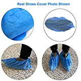 Shoes Covers Disposable, Oceantree No Slip Nonwoven - 100 Pieces(50 Pairs)Disposable Shoe Boot Slip Resistant Lightweight Breathable Dust-Proof Boot Shoes Cover, One Size Fit All Most