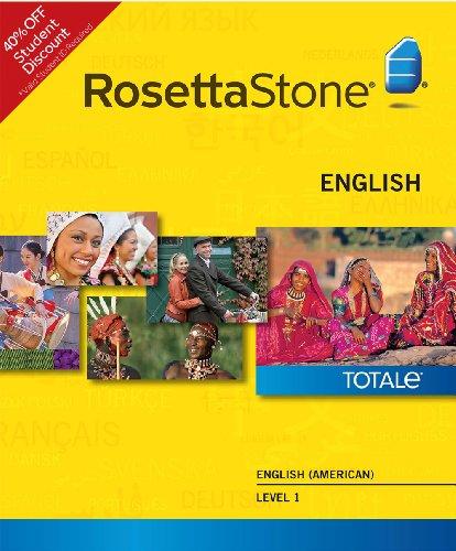Rosetta Stone English (American) Level 1 - Student Price (Mac) [Download]