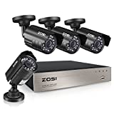 ZOSI 8-Channel HD-TVI 1080N/720P...