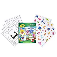 Crayola Baby Shark Coloring Set, Gift for Kids, 3, 4, 5, 6
