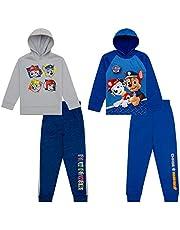 Paw Patrol Hoodies Sweatshirts & Sweatpants 4 Piece Set, Kids Clothes Activewear