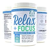 Relax + Focus Anxiety Relief - Stress Support - Best Reviews Guide