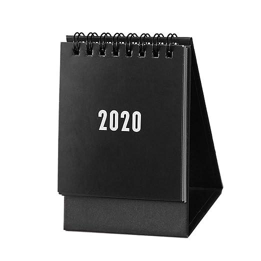 Gogdog 2020 Calendar Plegable de Escritorio Estilo Simple para ...