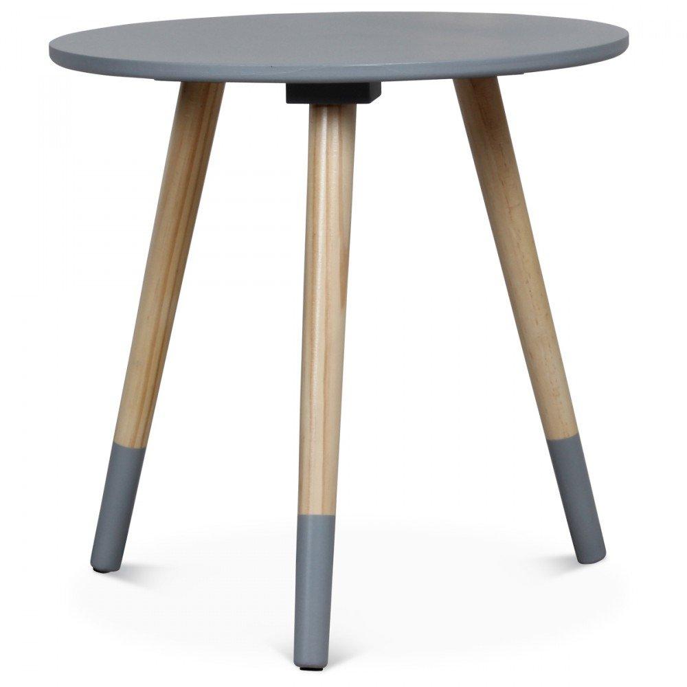 Basse Opjet Grise Table Maison 40x40Cuisineamp; Yg76bfvIym
