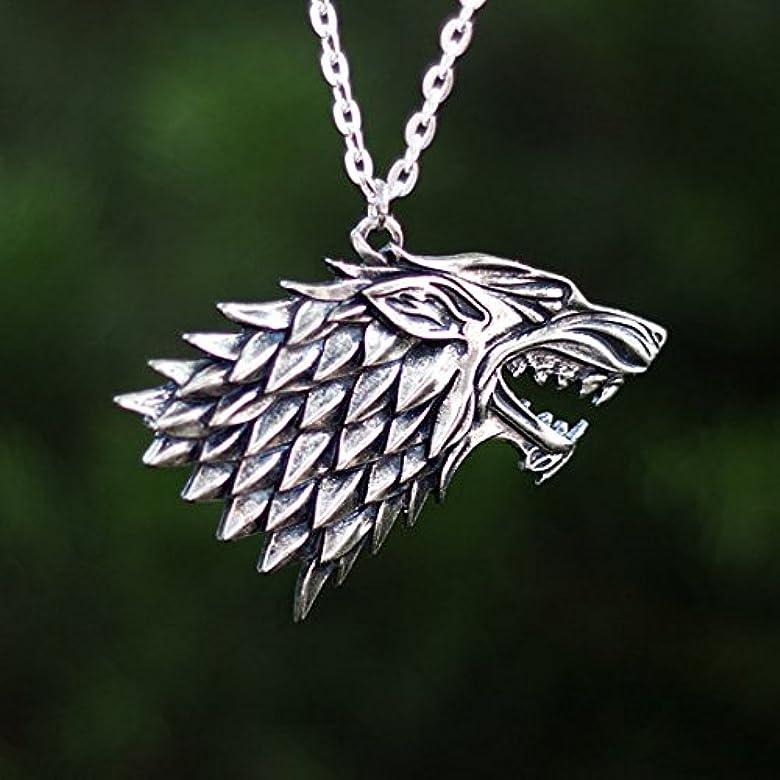Game Of Thrones House Stark collar, Arya, Jonh Nieve, colgante ...