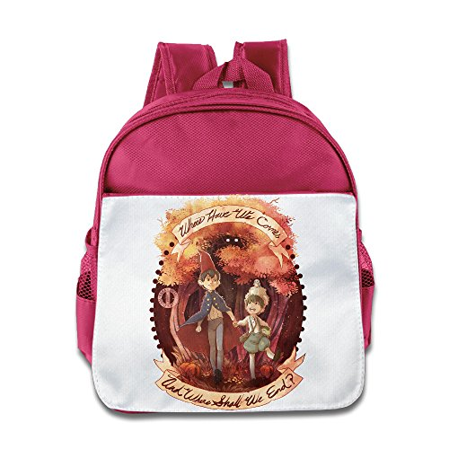 [Custom Over The Garden Wall Boys And Girls School Bag Backpack For 1-6 Years Old Pink] (Baby Megamind Costume)