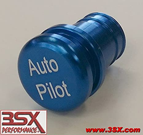 03a30229c605 Amazon.com  AUTO PILOT BUTTONBLUE 12-volt Accessory   Lighter Insert Auto  Pilot Button (non-functional) Fits Most Vehicles  Automotive