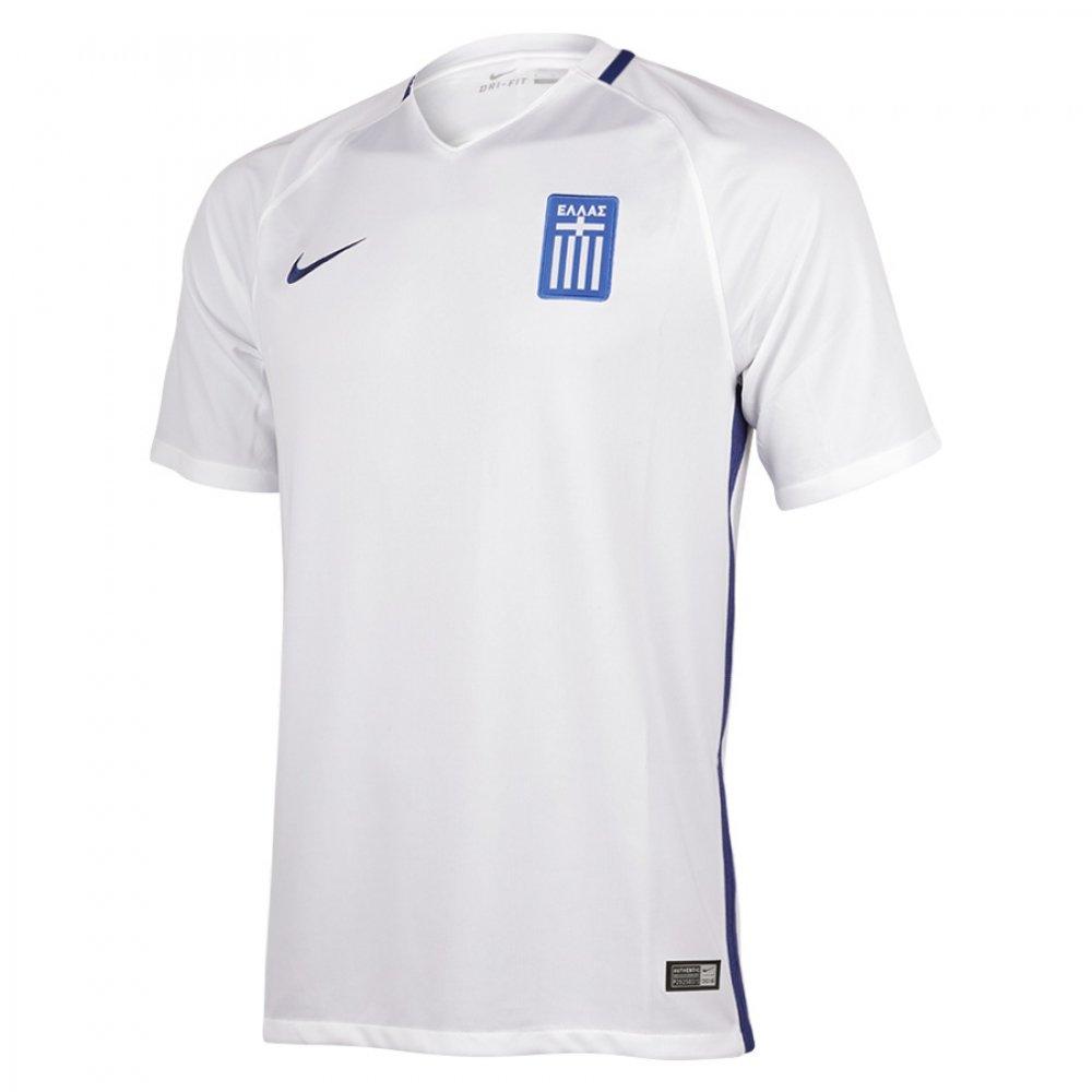 Nike Greece SS Home Replica Shirt White