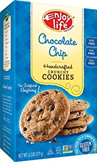 product image for Enjoy Life Handcrafted Crunchy Cookies Gluten Free Chocolate Chip -- 6.3 oz - 2 pc