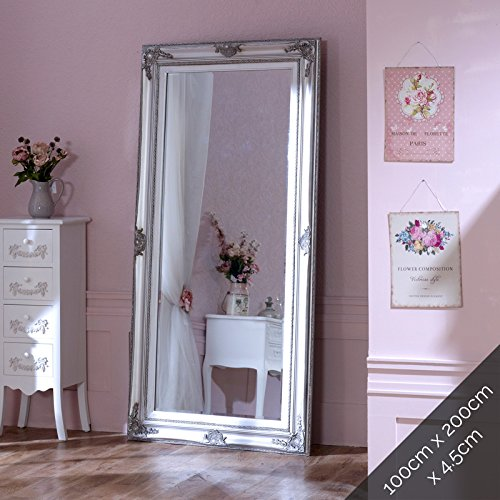 Extra, Extra Large Ornate Silver Wall/Floor Mirror