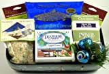 Gourmet Holiday Gift Basket of Seafood Favorites | Lobster, Clam, Crab, Salmon, and More!