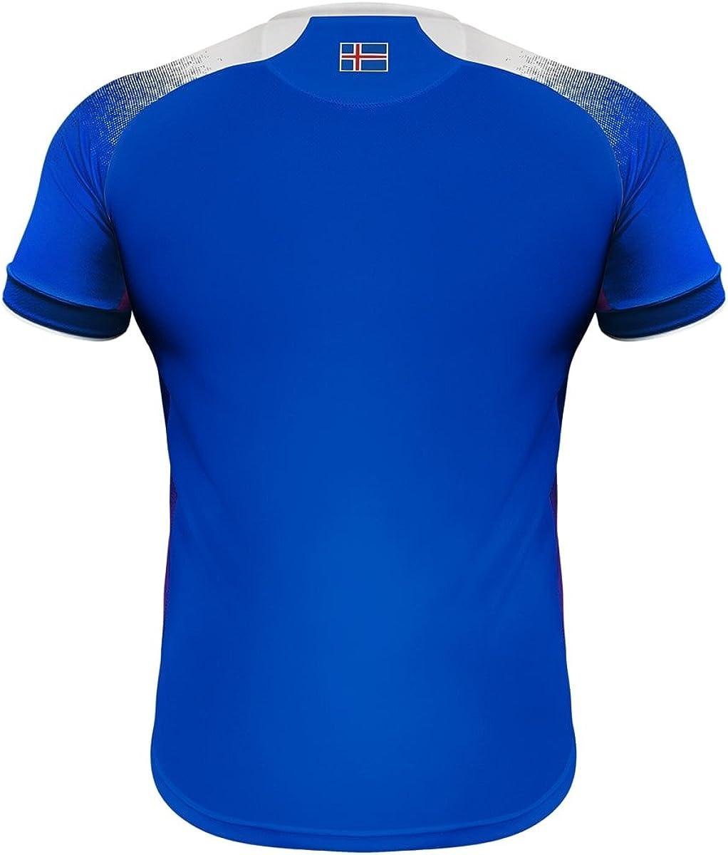Errea Island Home Heim WM 2018 - Camiseta de fútbol. Hombre ...