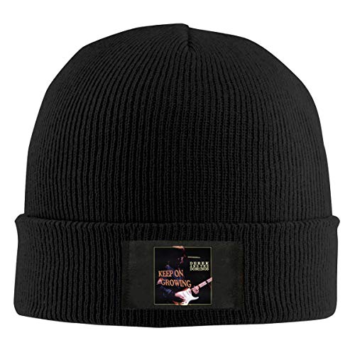 KarlMRush Derek and The Dominos Keep On Growing Mens Womens Outdoor Sports Fashion Design,Adult Knit Hat Hedging Cap