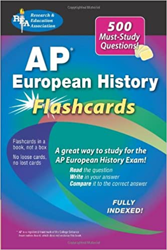 Amazon advanced placement european history flashcard advanced placement european history flashcard 0th edition fandeluxe Choice Image