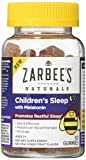 Zarbee's Naturals Children's Sleep with Melatonin Supplement, Gummies, Natural Mixed Fruit Flavor, 50 Count