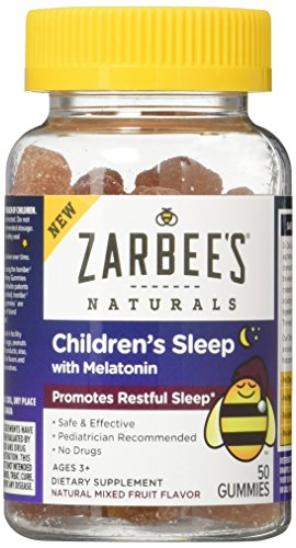 Zarbees Naturals Childrens Melatonin Supplement product image