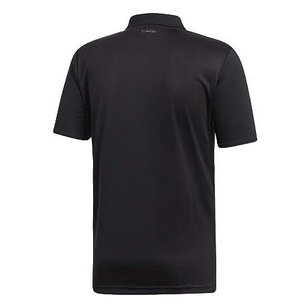 adidas Club 3-Stripes Tennis Polo Shirt, Negro/Blanco, Large para ...