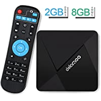 Android TV Box , DOLAMEE D5 4K Smart TV Box Android 6.0 2GB RAM 8GB ROM with Bluetooth 4.0 WIFI USB Ultra HD Media Player