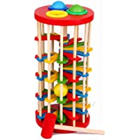 The Caterpillar Eats The Montessori Wooden Toys Baby 0-24 Month Early Educational Children With Bringht Color