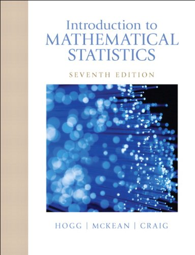 Introduction to Mathematical Statistics (7th Edition) Pdf