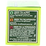 Bigelow 6 assorted green tea bags, 18-count box (pack of 6), caffeinated green tea, 108 tea bags total 10 healthy antioxidants: enjoy the health benefits of green tea with this delightful variety pack, containing: classic green tea, green tea with peach, green tea with lemon, green tea with mint, decaffeinated green tea, and green tea with pomegranate. Individually wrapped: bigelow tea always come individually wrapped in foil pouches for peak flavor, freshness, and aroma to enjoy everywhere you go! Gluten -free, calorie-free, & kosher certified; bigelow tea delivers on all the health benefits of tea. Try every flavor: there's a bigelow tea for every mood and every time of day. Rise and shine with english breakfast, smooth out the day with vanilla chai, get an antioxidant boost from green tea, or relax & restore with one of our variety of herbal teas.