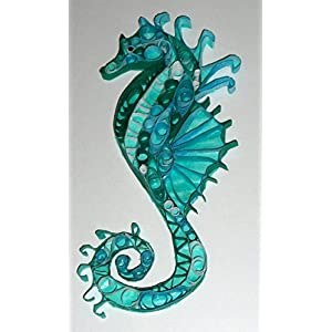 51SubHVRqeL._SS300_ Seahorse Wall Art & Seahorse Wall Decor