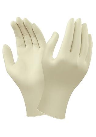 Ansell 69-318/5.5-6 TouchNTuff Caucho natural guante, Protección contra productos