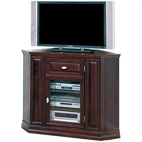 Espresso Corner Tv Stand - Leick Home Riley Holliday 46