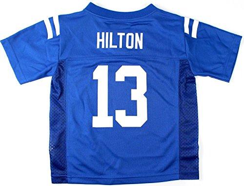T.Y. Hilton Indianapolis Colts Blue NFL Kids 2015-16 Season Mid Tier Jersey (Kids 7)