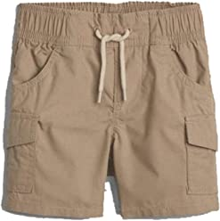 84422b0d72a BabyGap Boys Khaki Pull-On Cargo Shorts 0-3 Months