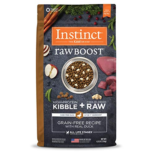 Instinct Raw Boost Grain Free Recipe with Real Duck Natural Dry Dog Food by Nature