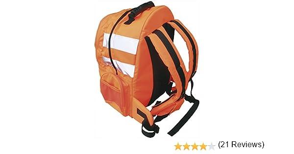 B904orr mochila de liberaci/ón r/ápida en naranja de alta visibilidad Portwest